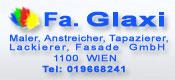 Fa. Glaxi Wien - Maler, Anstreicher, Tapazierer, Lackierer, Fasade GmbH